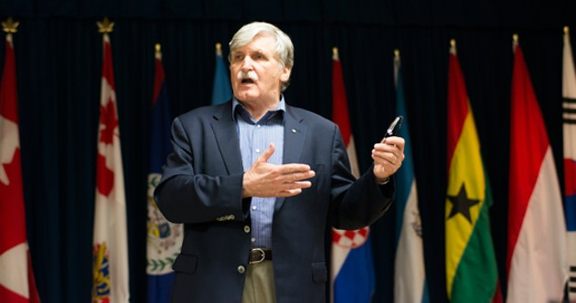 Lt.-Gen. Roméo Dallaire will be speaking March 10 at the Spatz Theatre in Halifax. - For more information, click here. - PETER BREGG