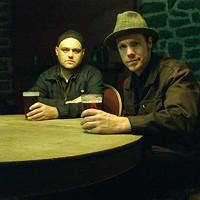 Lucas Stagg and Paul MacLeod w/Kev Corbett
