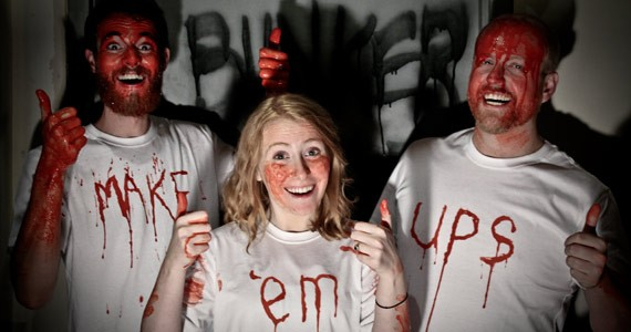 Make 'Em Ups Frighteningly Funny should be a bloody good time.