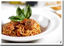 Master pasta Classic spaghetti and meatballs at Rogi Orazio.photo Rob Fournier