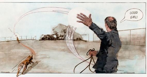 Mathew Reichertz: Garbage Page 1, 2014 - PHOTO STEVE FARMER, COURTESY OF THE ARTIST