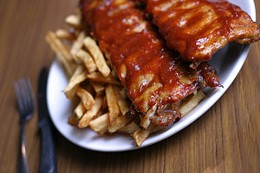 Mega Pig Dowdy Mic Mac Bar and Grill offers heaping portions of delicious. photo Julé Malet-Veale