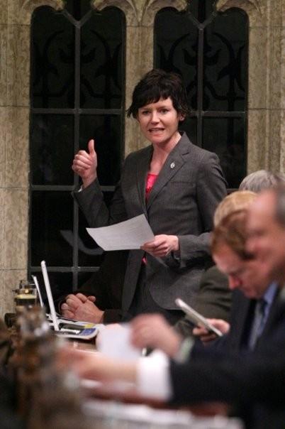Megan Leslie in House of Commons