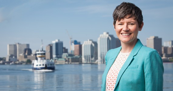 Megan Leslie is the New Democratic MP for Halifax and deputy leader for the federal NDP - RILEY SMITH