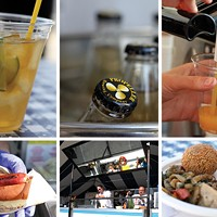 Melissa Buote takes in Tall Ships' Food Fare by the Sea
