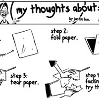 My Thoughts About: Cutting Paper