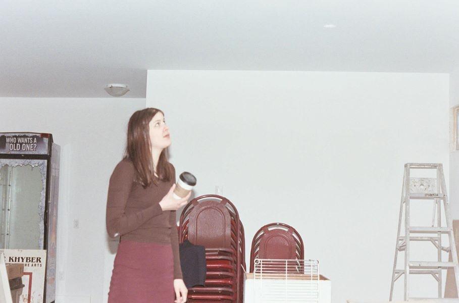 New director Hannah Guinan at the Khyber - DAN JOYCE