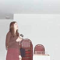 New director Hannah Guinan at the Khyber