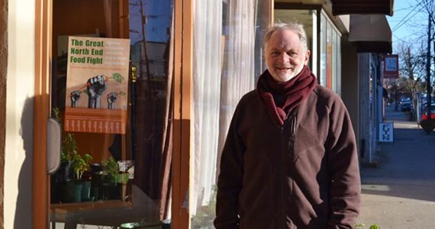 Norman Greenberg, an organizer of the Community Carrot Co-op. - JORDAN WHITEHOUSE