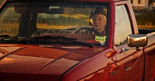 Olympia Dukakis spends time on Nova Scotia highways in Cloudburst.
