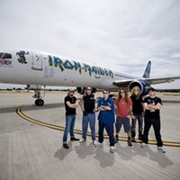 One-night only! Iron Maiden: Flight 666 Bayers Lake, 9:30pm, Tuesday May 5