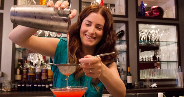 One of The Middle Spoon's owners—and Blind Barman organizers—Jacey Doherty. - ALYSON HARDWICK