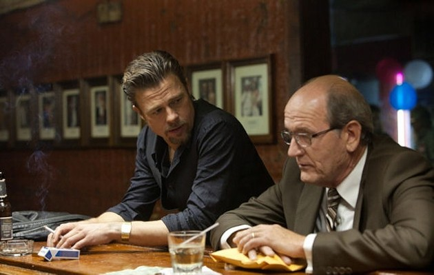 Our man Pitt has got a real mess on his hands in Killing Them Softly