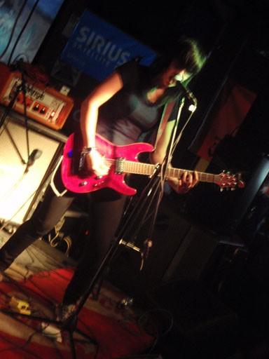 Pack A.D. guitarist Becky Black