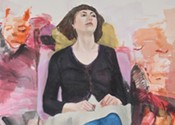 Sara Hartland-Rowe watches people