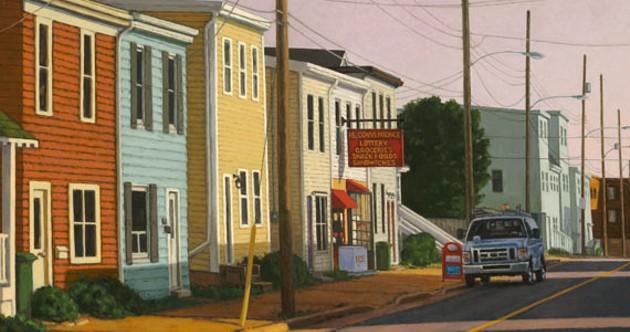 "Paul Hannon's ""Morning Shadows"""