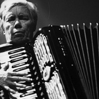 Pauline Oliveros and her accordion come to town.