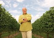 Pete Luckett makes wine