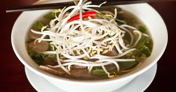 "Pho Hoang Minh offers ""ridiculously plentiful"" fare. - MEGHAN TANSEY WHITTON"