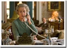Phone rex Helen Mirren takes the call in The Queen.
