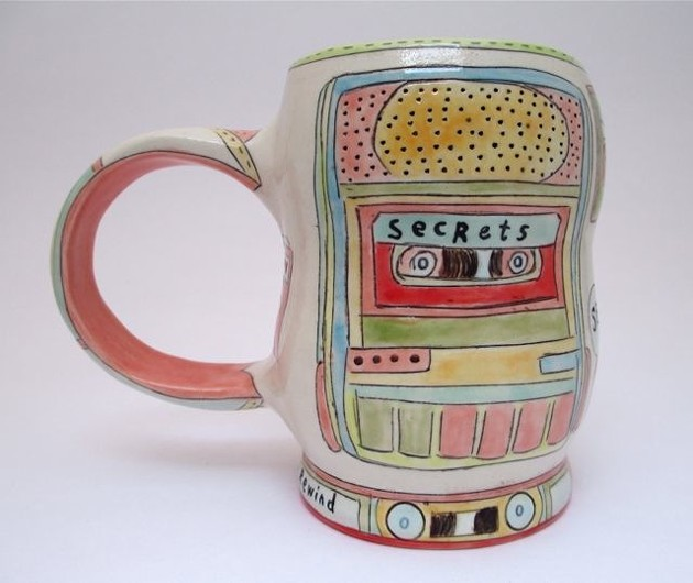 Pretty mug from Forage Studios