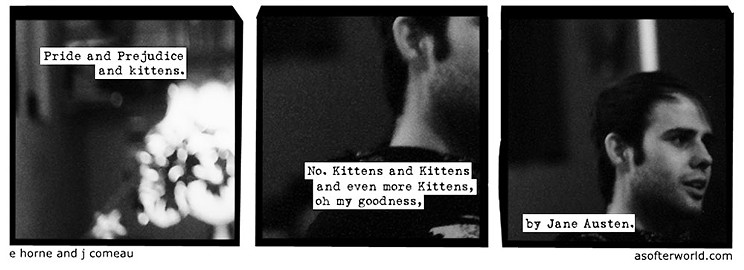 Pride and Prejudice and kittens