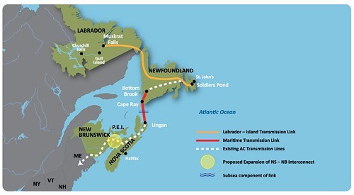 Project would need over 1,300 km of new transmission lines