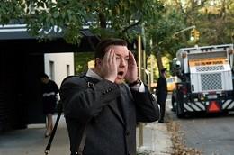 Ricky Gervais plays an awkward half-dead dentist in Ghost Town.