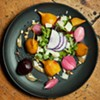Roasted Beet and Pickled Onion Salad