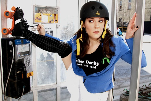 Roller derby takes Nancy Kenny from zero to hero - RICHARD GILMORE