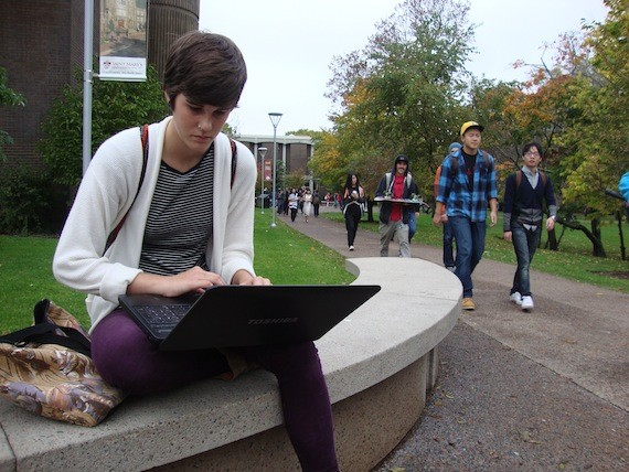 Saint Mary's University student Elizabeth MacKay was urged to simulate sex acts at the Turf Burn event.