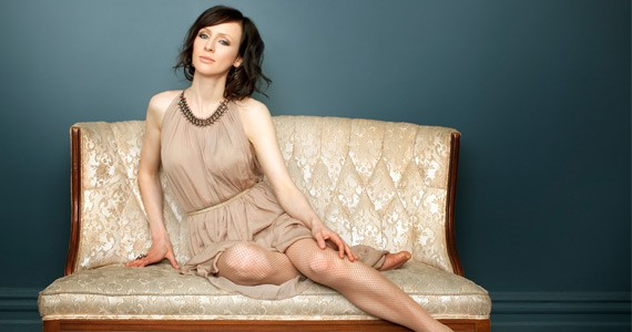 Sarah Slean leaves a trail of positivity in her wake.