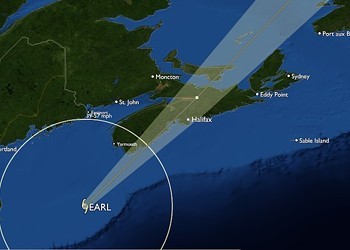 Hurricane Earl prefers Nova Scotia after all
