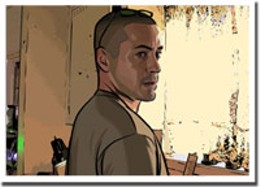 Scope this out A scene from Richard Linklater's latest, A Scanner Darkly.