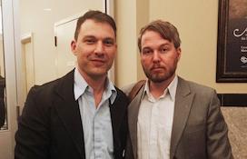 Screen Nova Scotia's Scott Simpson and Marc Almon. - JENNIFER MURPHY