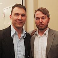 Screen Nova Scotia's Scott Simpson and Marc Almon.