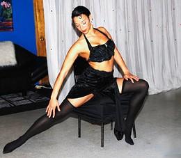 Shake it Leslie Carvery in Me & Josephine as part of thsi year's Atlantic Fringe Festival.