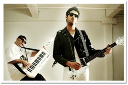 Shiny bright Chromeo's musicians say they're glad the band retains its modern edge.
