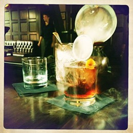 DRAWING ROOM - Smokey cocktails at The Drawing Room, the best secret bar in the city.