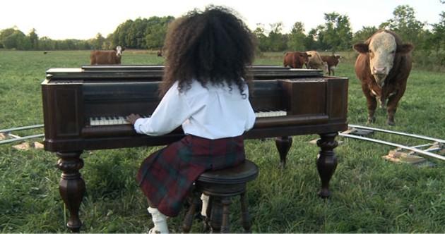 """""""So Long Farewell"""": A video still from nichola feldman-kiss' after Africa."""