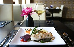 Social graces Perfectly seared halibut is just one Nectar specialty. photo Julé Malet-Veale