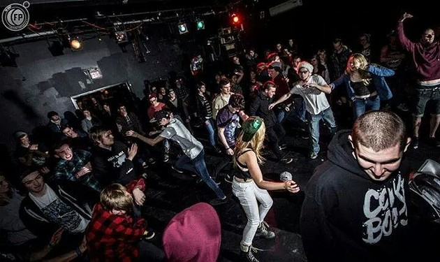 Some of the fun at a Punk Bucket show. - RYAN STACEY, FREEDOM PHOTOGRAPHY