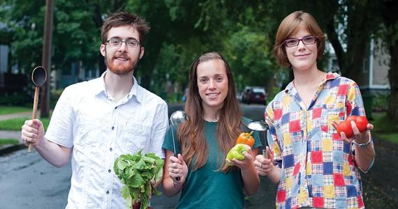 Sonia Grant (far right) and The Loaded Ladle. - ANGELA GZOWSKI