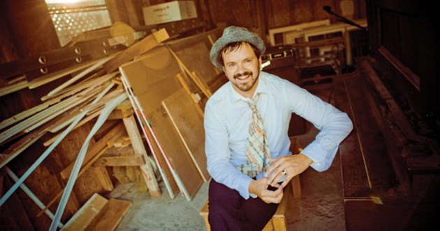 Steve Gates' living room parties make good records - MATT DUNLAP