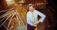 Steve Gates' living room parties make good records