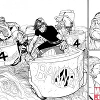 Steve McNiven's Wolverine preview art from Marvel.com