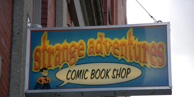 Strange Adventures wins Gold in The Coast Best of Halifax