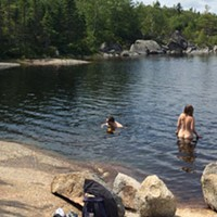 Strip down and cool off with the Halifax Skinny Dippers