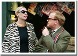 Take two Infamous presents another go-round of Truman Capote (Toby Jones, right).