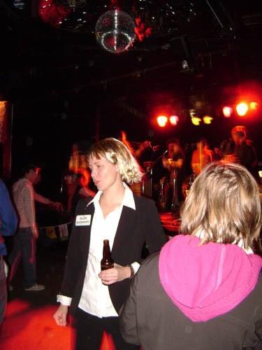 No funny dances for our Ellen